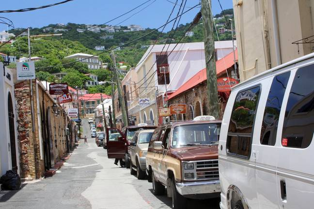 Duty free shopping in Charlotte Amalie
