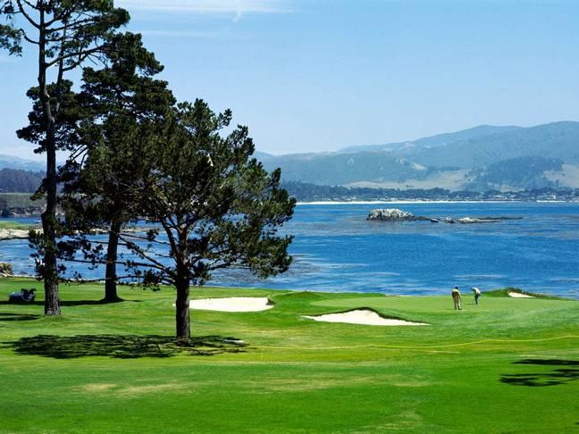 Mahogany Run golf course on St. Thomas