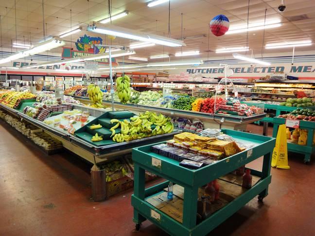 food shopping